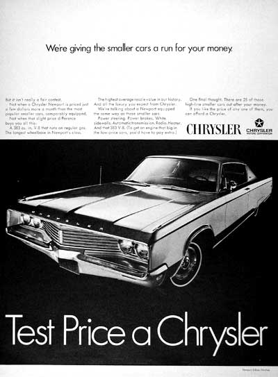 1968 Chrysler Newport #001860