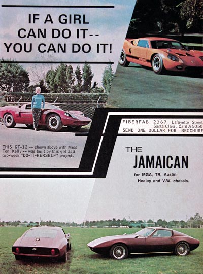 1968 Fiberfab Kit Cars GT-12 Jamaican #024077