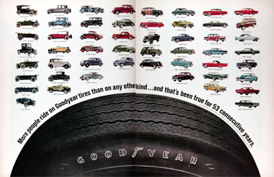 1968 Goodyear Tires