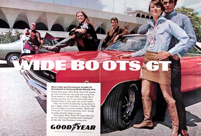 1968 Goodyear Wideboots GT #023733