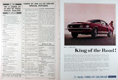 1968 Shelby Cobra GT 500 KR #024163