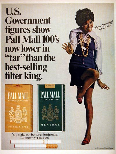1969 Pall Mall Cigarettes #004397