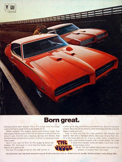 1969 Pontiac The Judge #004842