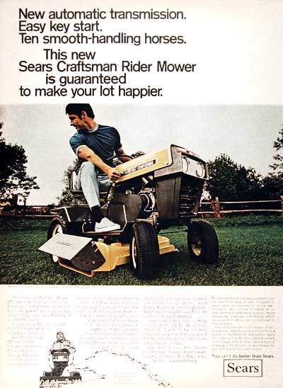 1969 Sears Mower