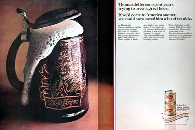 1969 Schaefer Beer #025267