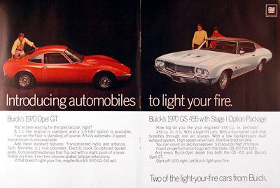 1970 Buick Opel & Buick GS #004890