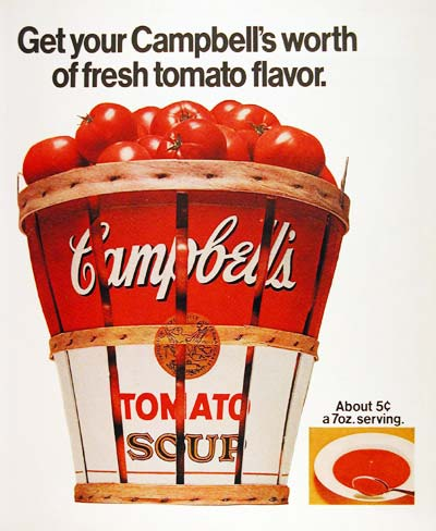 1970 Campbell's Tomato Soup #003577