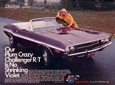 1970 Dodge Challenger Convertible #004895