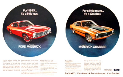 1970 Ford Maverick #003579
