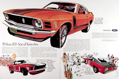 1970 Ford Mustang Boss 302 #023372
