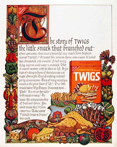 1970 Nabisco Twigs #003568
