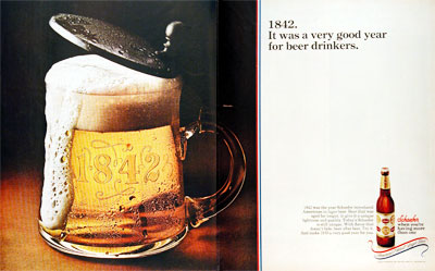 1970 Schaefer Beer #003583
