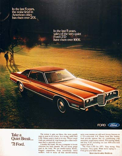 1971 Ford LTD Coupe #004019