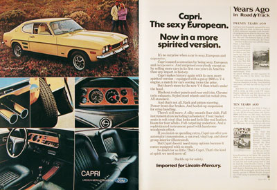 1972 Mercury Capri Sport Coupe #004980
