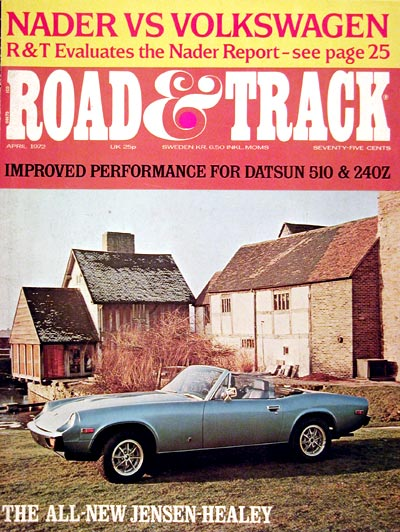 1972 Road & Track - Jensen Healey #005067