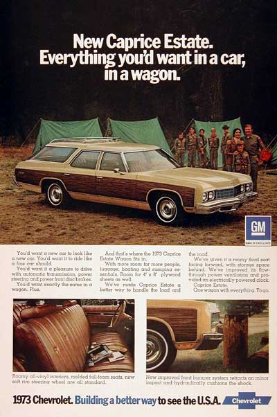 1973 Caprice Station Wagon #003011