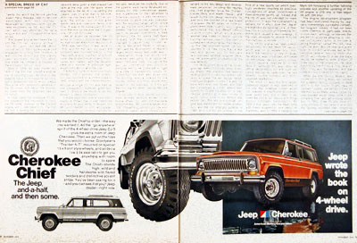 1976 Jeep Cherokee Chief #004536