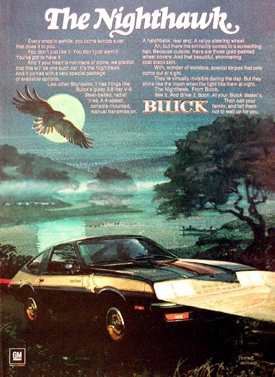 1977 Buick Nighthawk Coupe #005446
