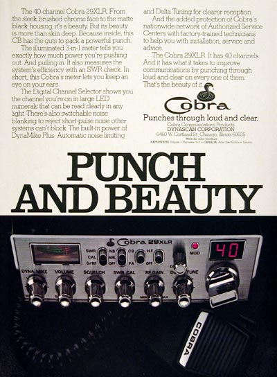 1977 Cobra CB Radio #005423