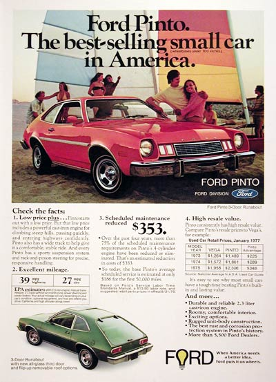 1977 Ford Pinto Runabout #005400