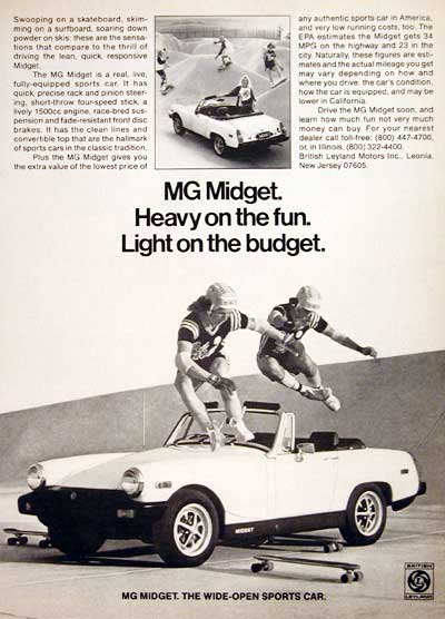 1978 MG Midget Convertible #005477