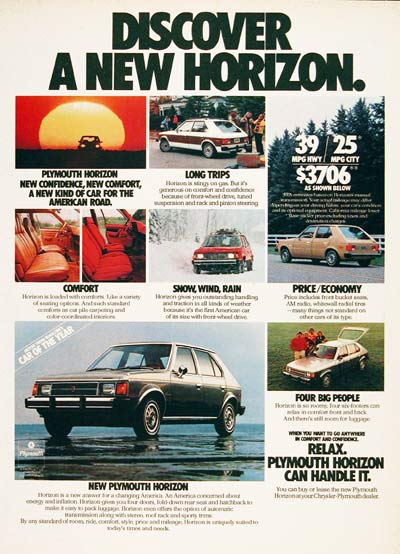 1978 Plymouth Horizon #006366