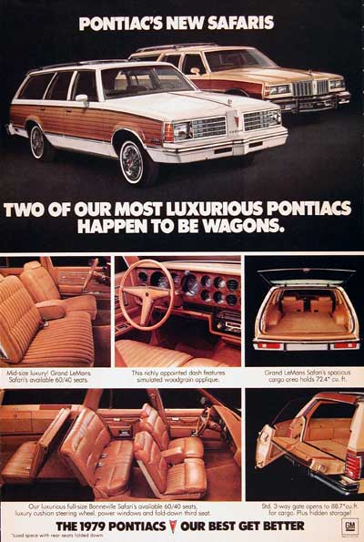1979 Pontiac Safari Wagon #002641
