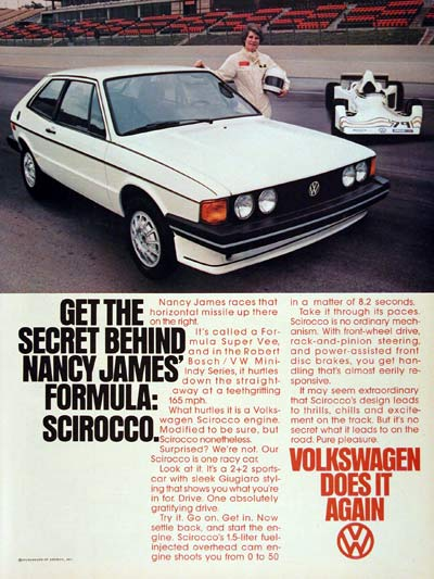 1979 Volkswagen Scirocco - Nancy James #004559