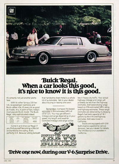 1980 Buick Regal Coupe #005909
