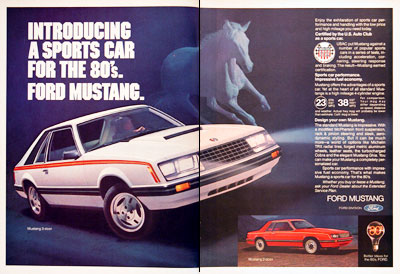 1980 Ford Mustang #004579