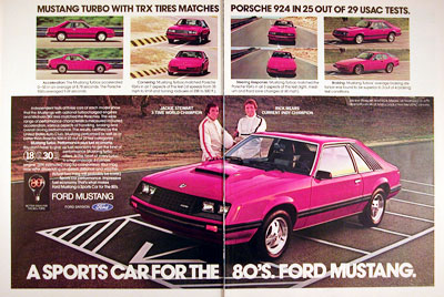 1980 Ford Mustang Turbo #005885