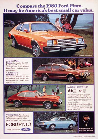1980 Ford Pinto Line #004576