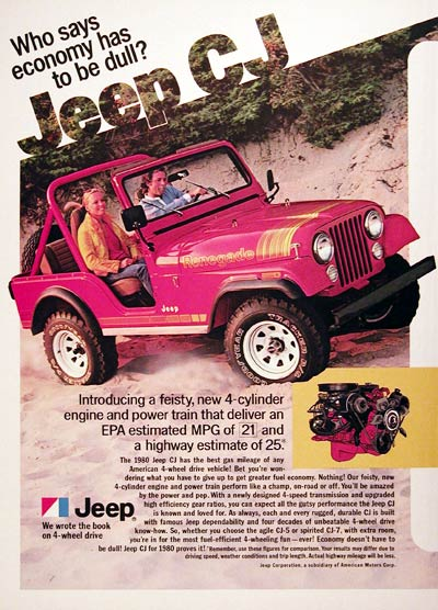 1980 Jeep CJ Renegade #005883