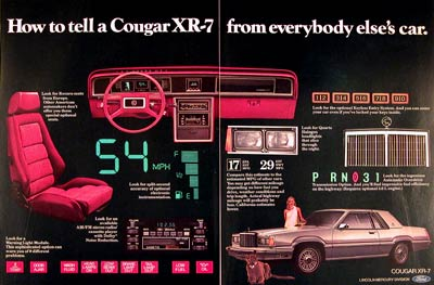1980 Mercury Cougar XR-7 #001328