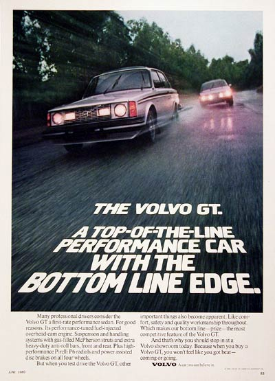 1980 Volvo GT Coupe #005915