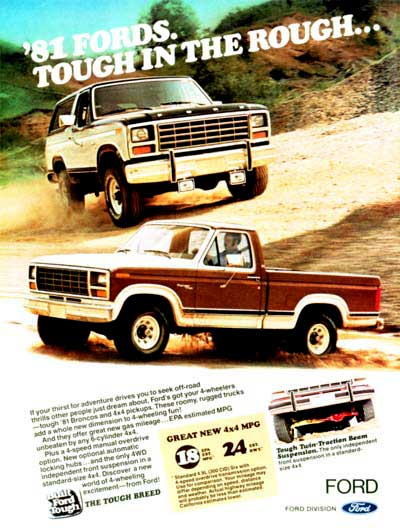1981 Ford Bronco & Pickup