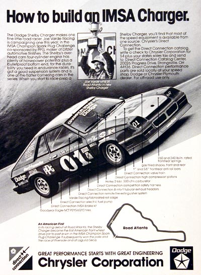 1983 Dodge Shelby Charger #006047