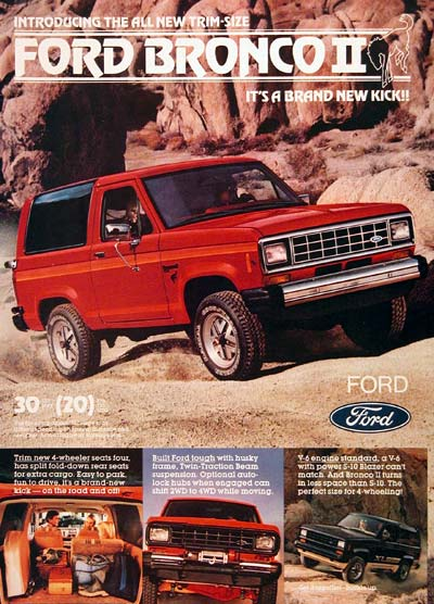 1983 Ford Bronco II #006055