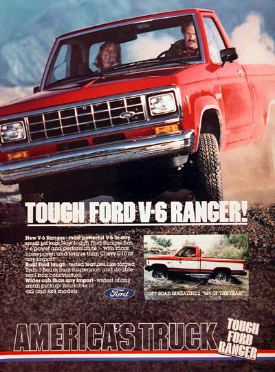 1983 Ford Ranger Pickup #006013