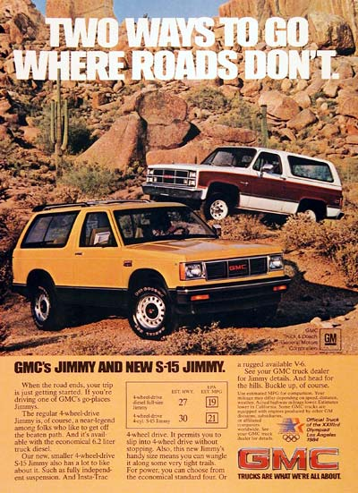 1983 GMC Jimmy #006050
