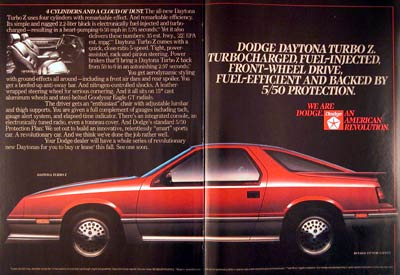 1984 Dodge Daytona #003036