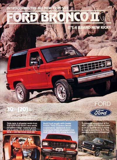 1984 Ford Bronco 4x4