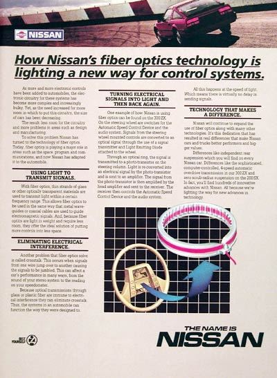 1985 Nissan Technology #005729