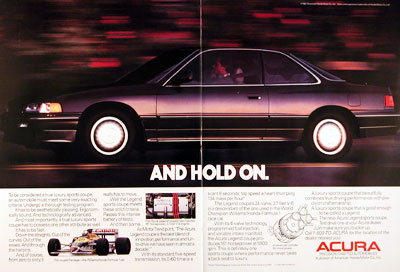 1987 Acura Legend
