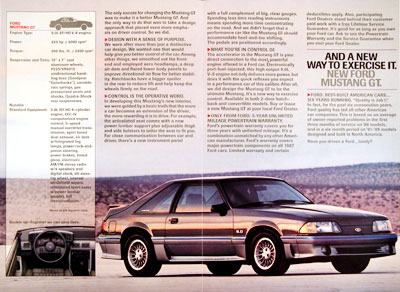 1987 Ford Mustang GT #006224