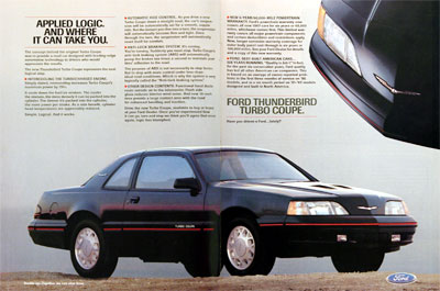 1987 Ford Thunderbird Turbo #006290