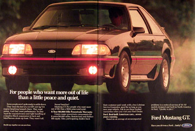 1988 Ford Mustang GT #005555