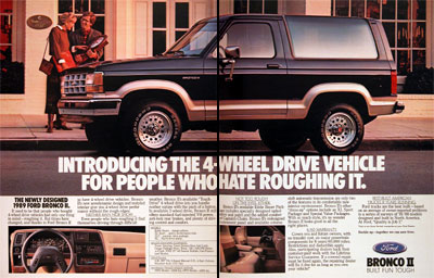 1989 Ford Bronco II #004375