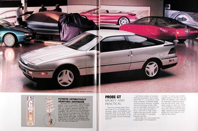 1989 Ford Probe GT #023905