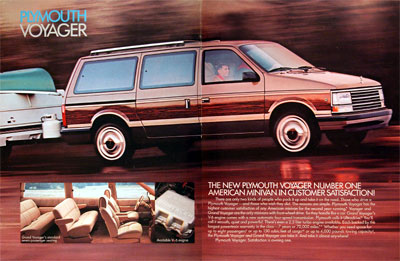 1989 Plymouth Voyager #004382